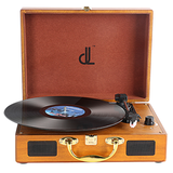 D&L Record Player -DL-639P-W
